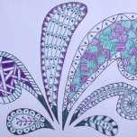 Splash Zentangle