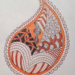 Paisley Zentangle